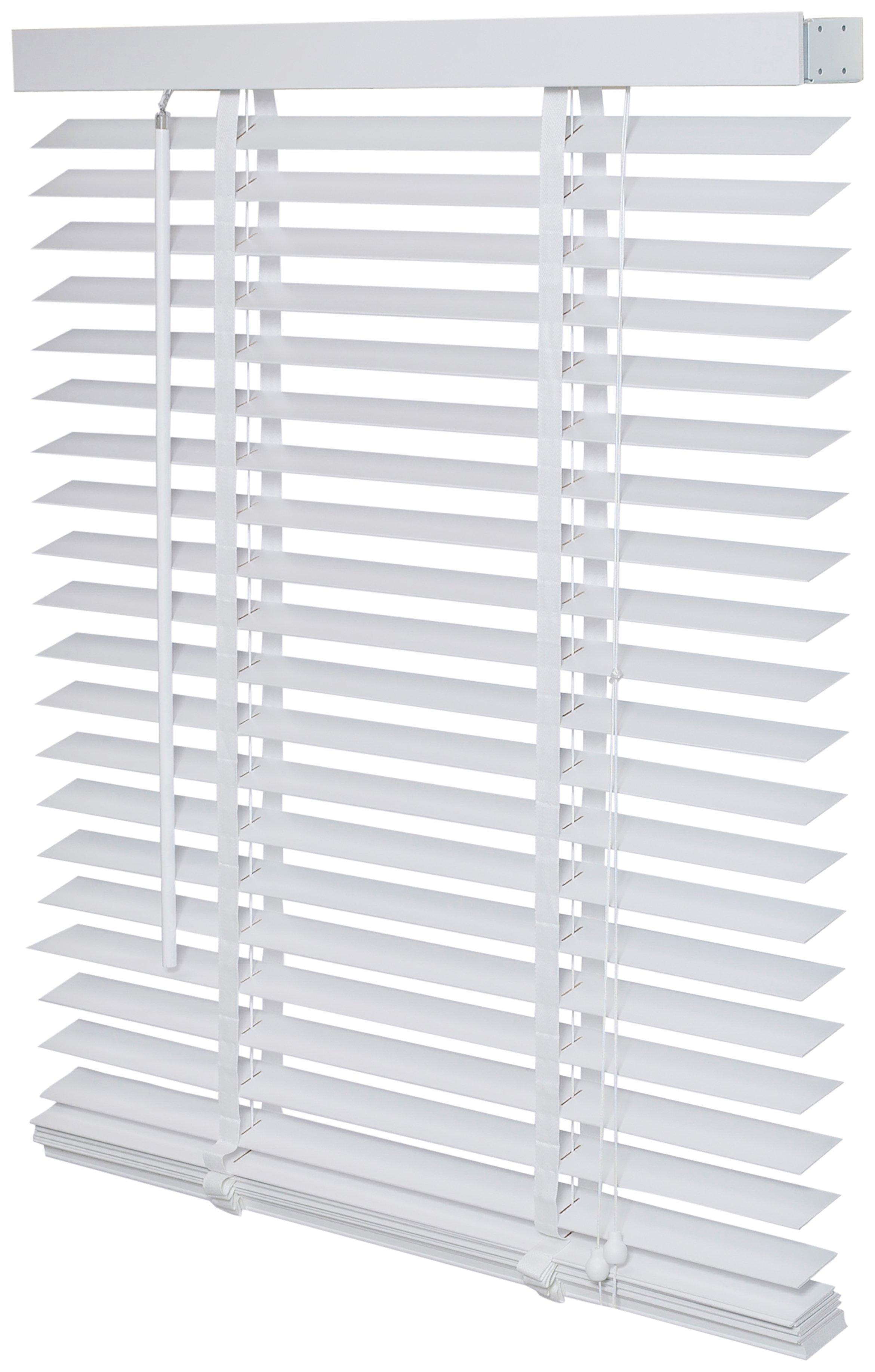 Intensions Wooden Venetian Blind - 2.3ft - White