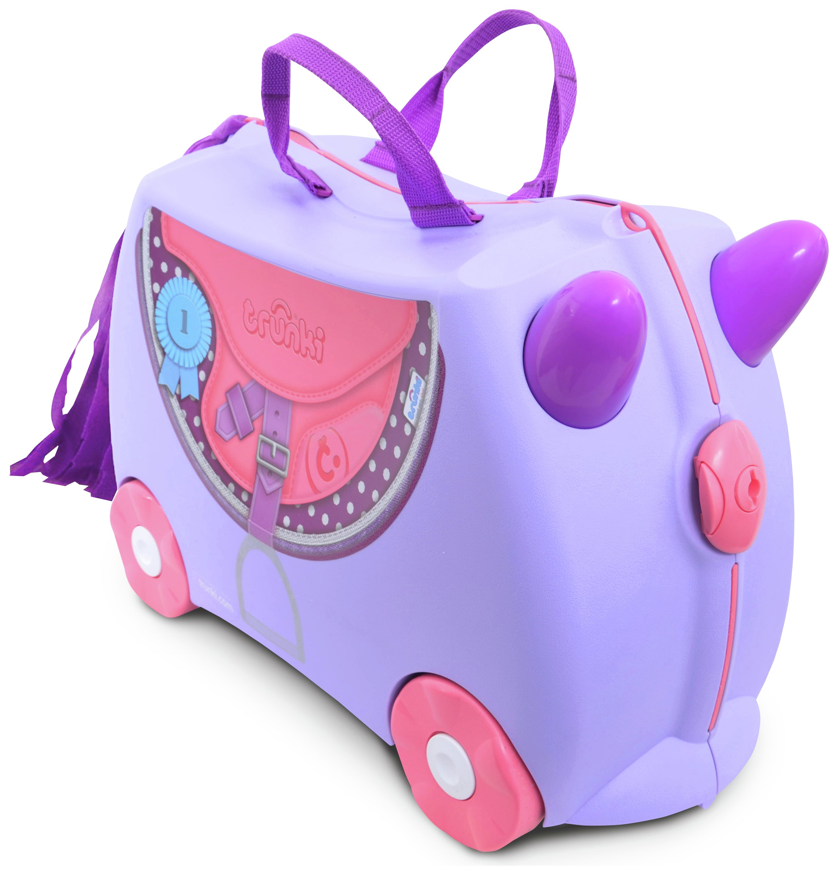Trunki - Bluebell Pony Ride-On Suitcase - Lilac lowest price
