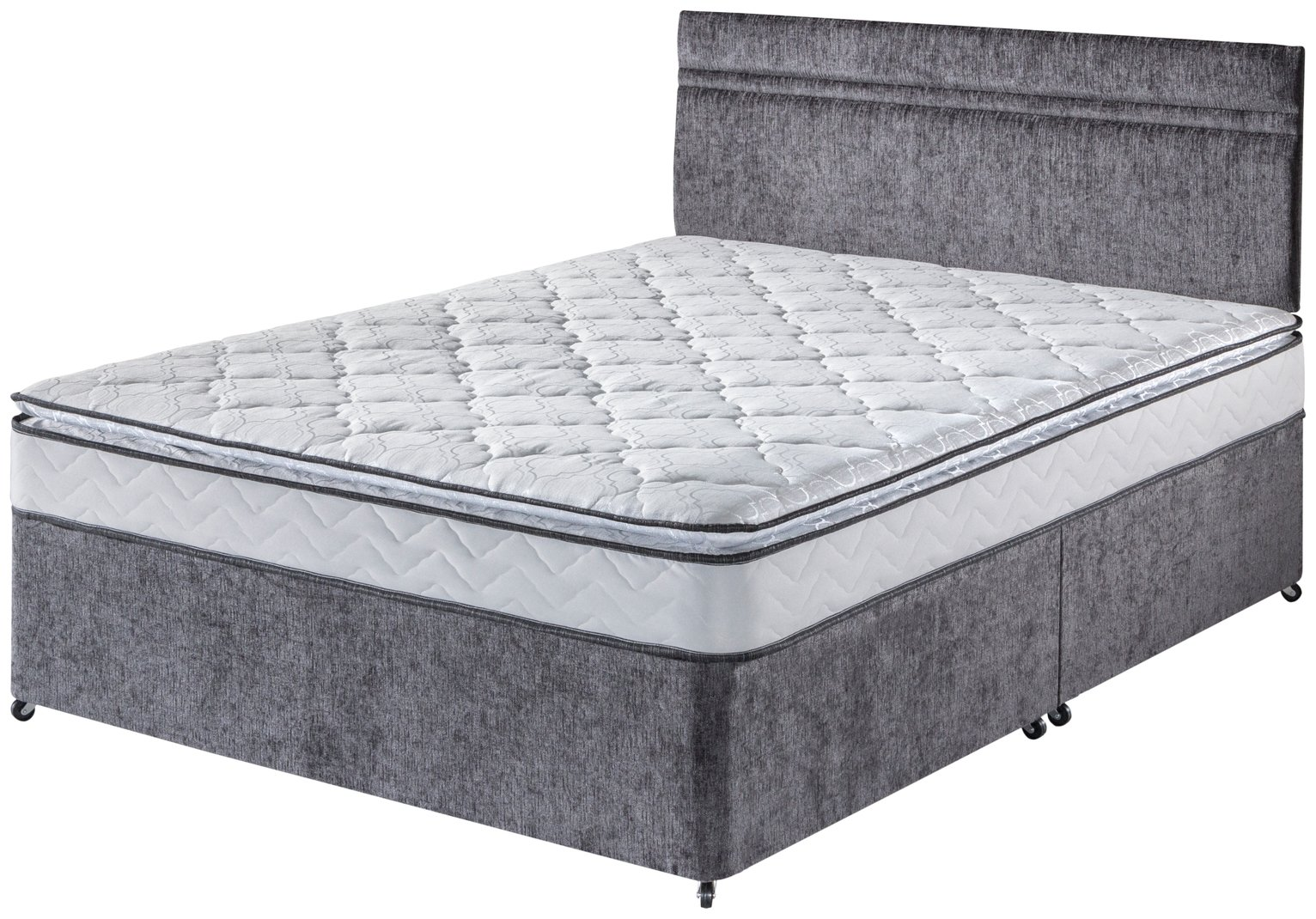 Airsprung Keswick Pocket Luxury Pillowtop Divan - Kingsize