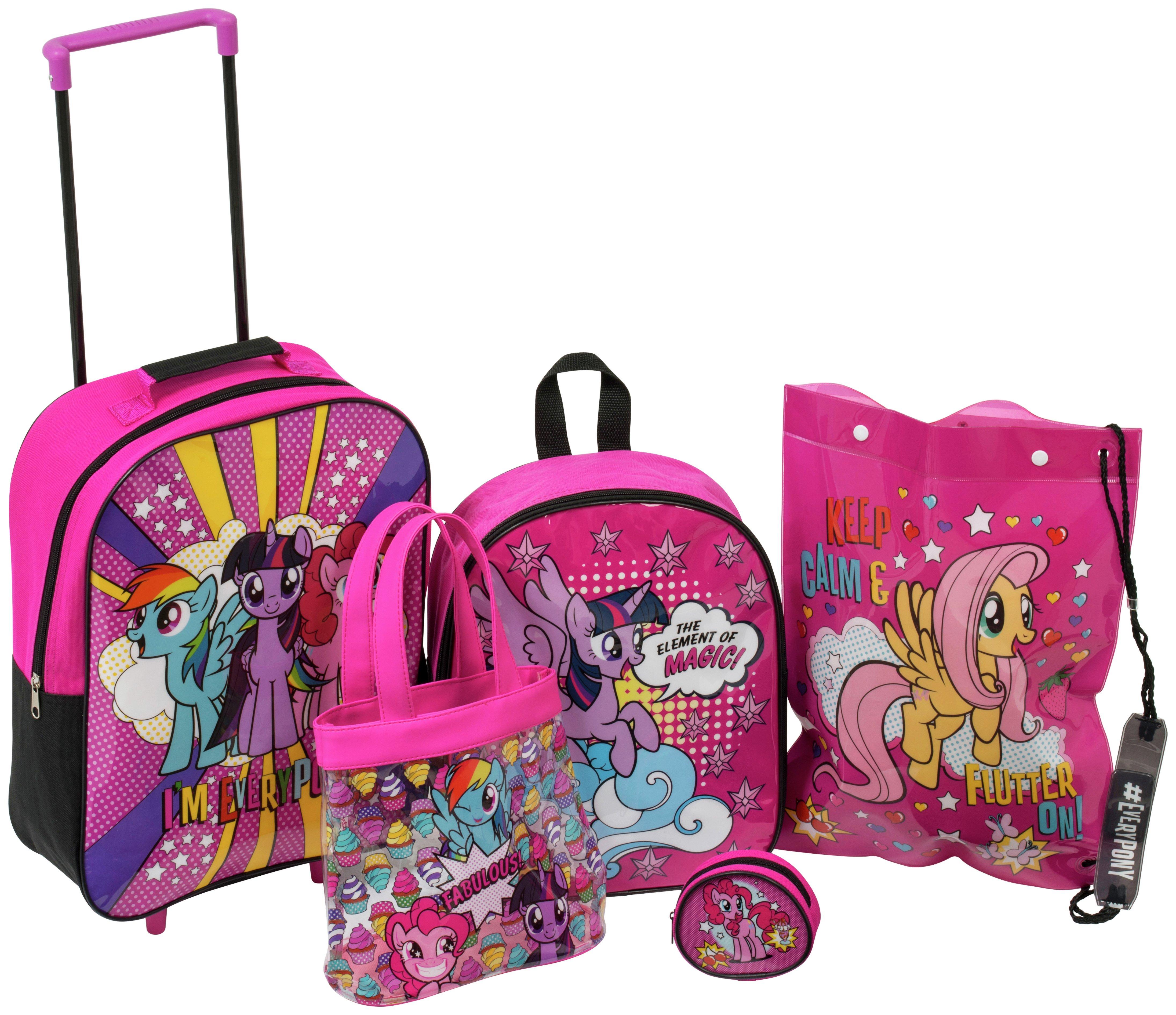 My Little Pony - 5 Piece Luggage Set lowest price