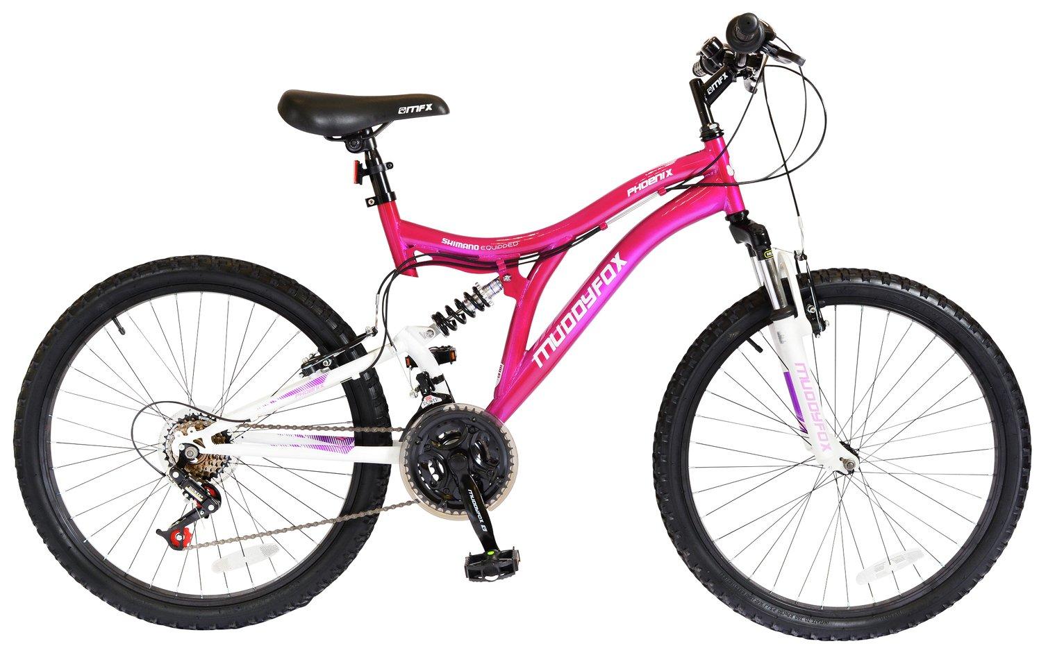 Muddyfox Phoenix 24 Inch Dual Suspension Bike