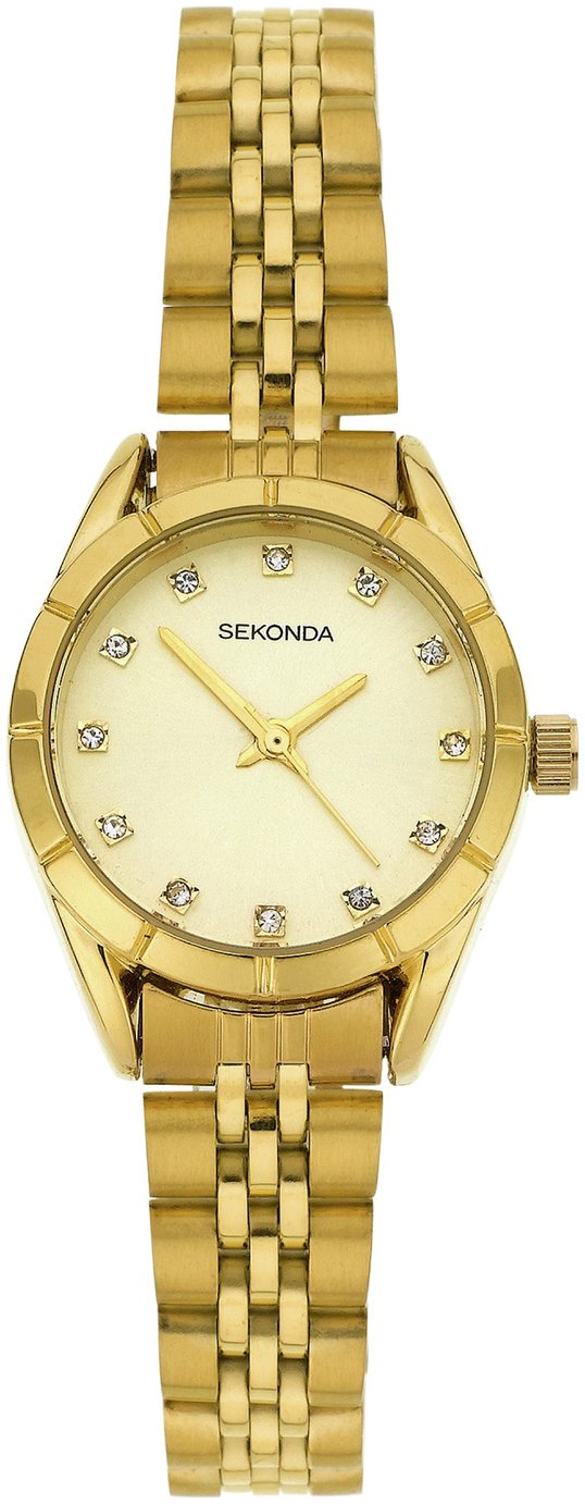 Sekonda Ladies' Gold Plated Bracelet Watch
