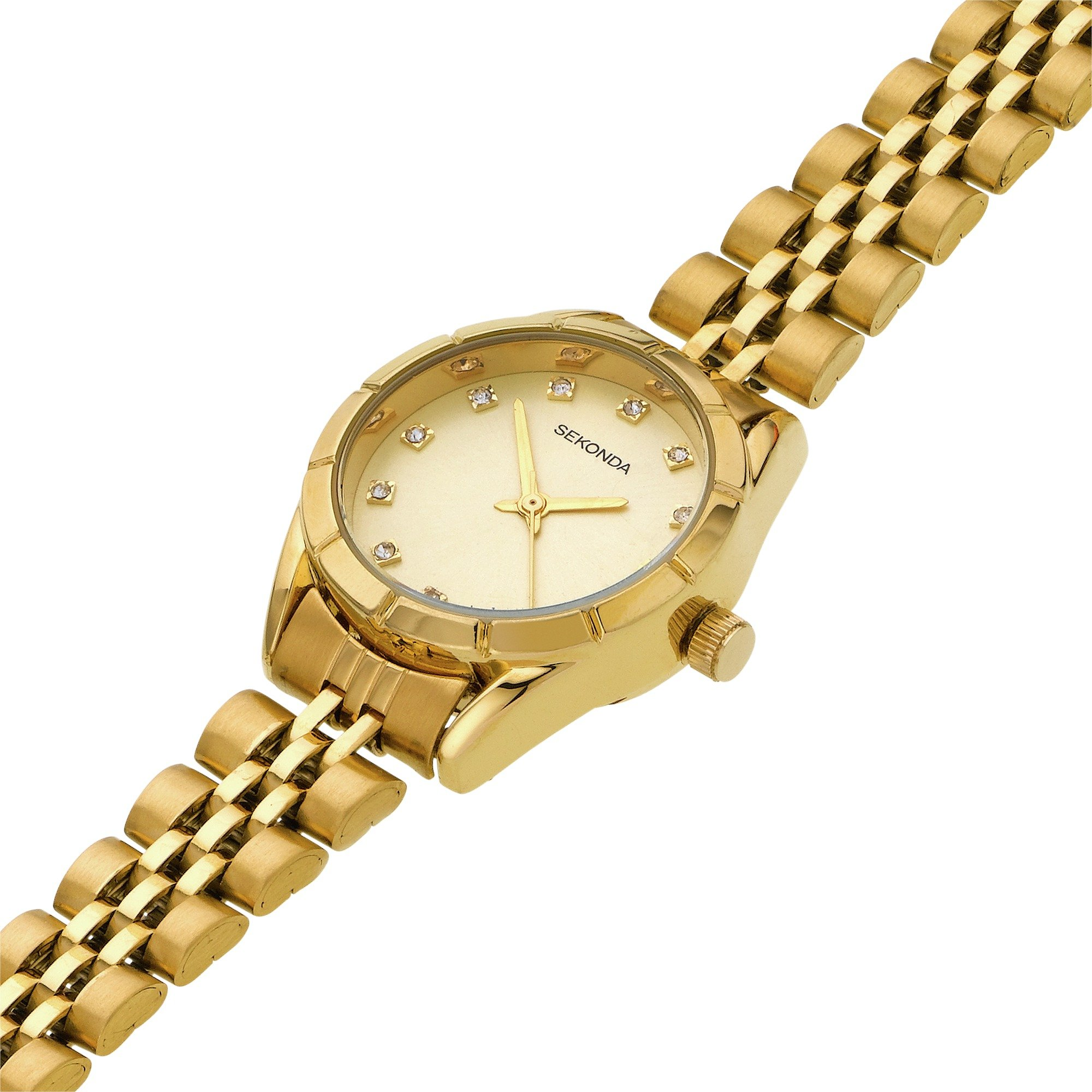 Buy Sekonda La s Gold Plated Bracelet Watch at Argos