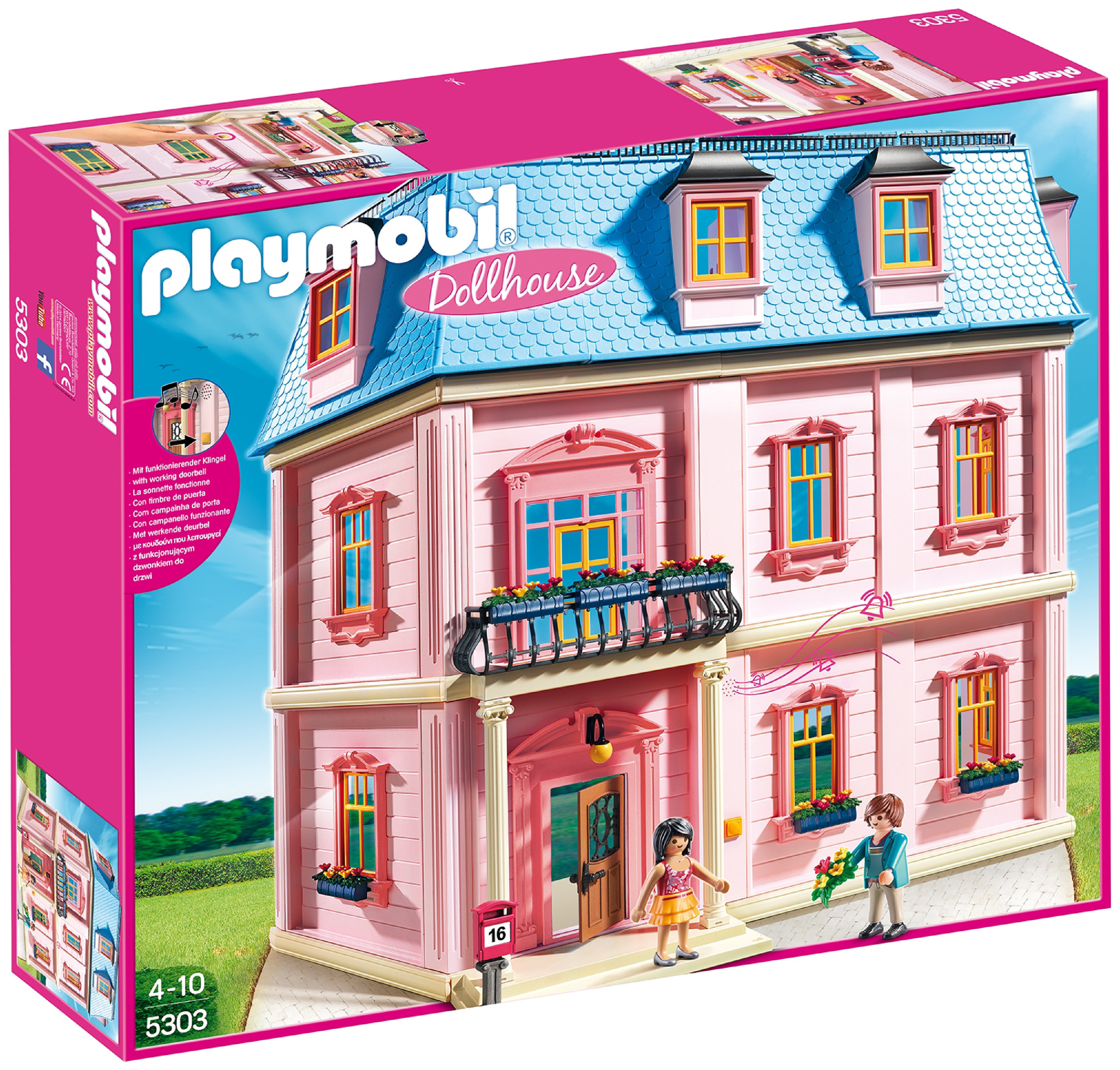 playmobil 5303 deluxe dollhouse.