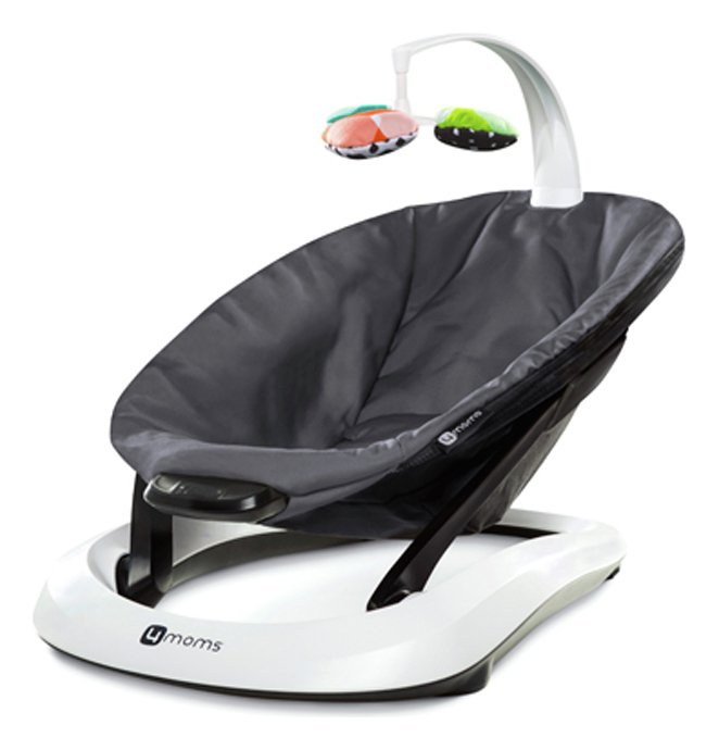 Compare prices for 4Moms BounceRoo Baby Bouncer Dark Grey Classic