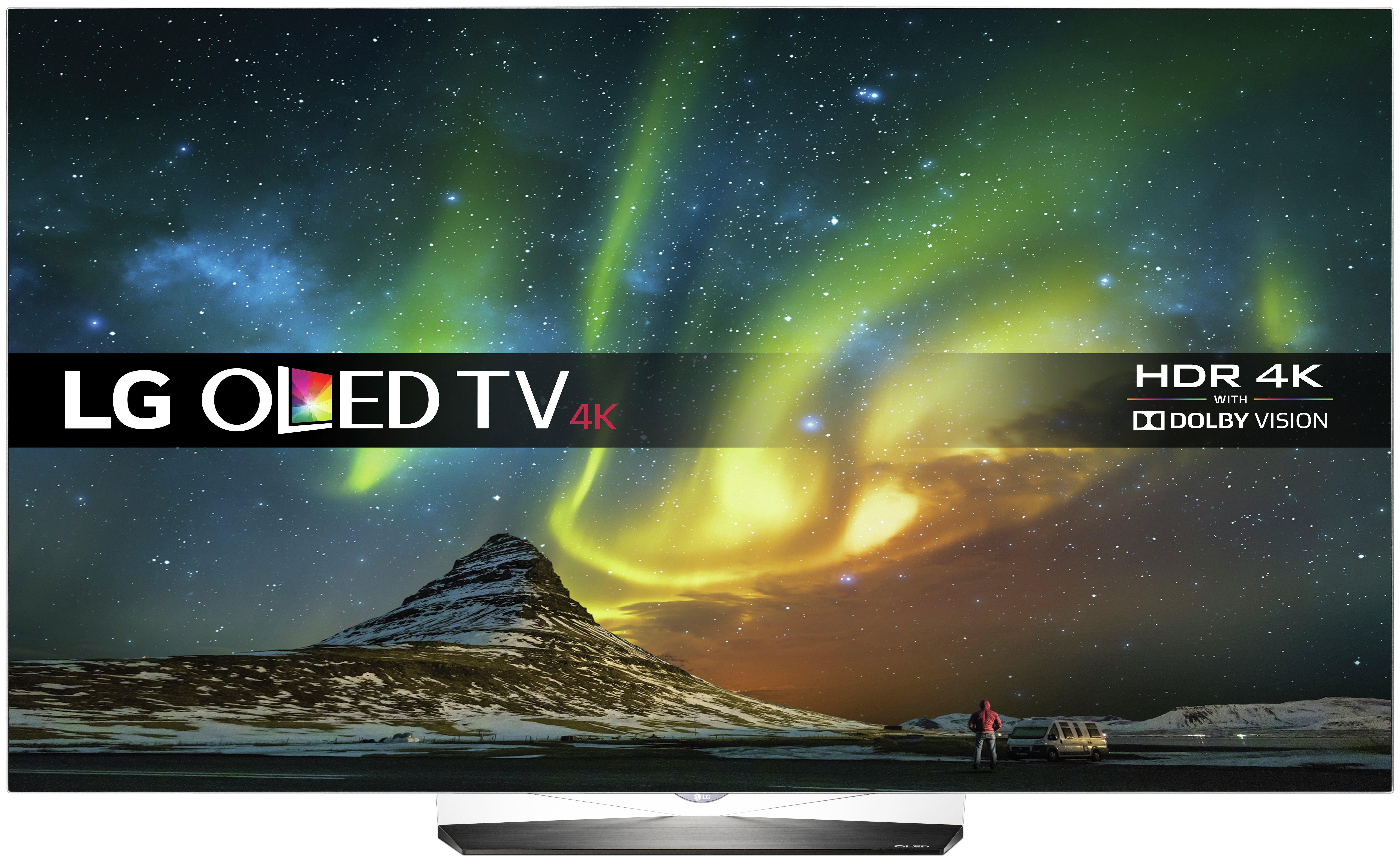 Image of LG OLED55B6V 55 inch Ultra HD Smart OLED TV.