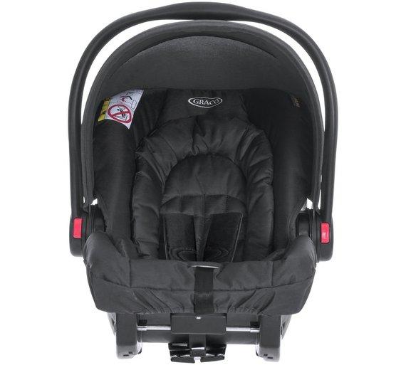 Buy Graco SnugRide R44 Midnight Black Car Seat At Argoscouk