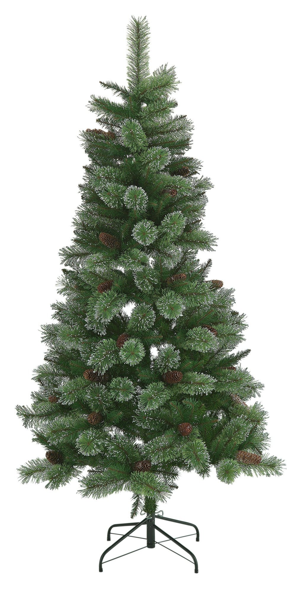Collection 6ft Glitter Tip Christmas Tree   Green