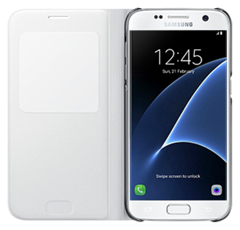 Samsung Samsung Original S7 S View Case - White.