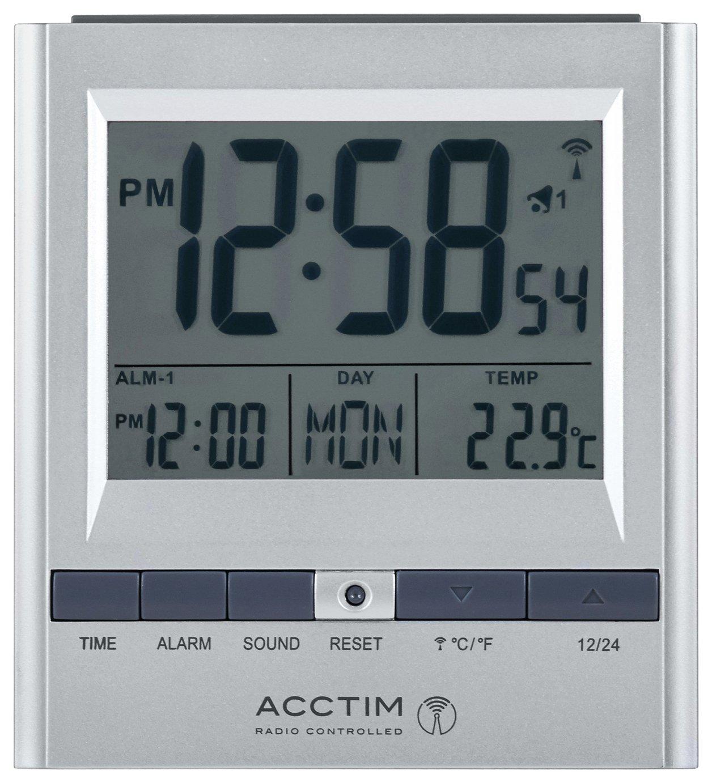 Acctim Radio Controlled Double Alarm Clock