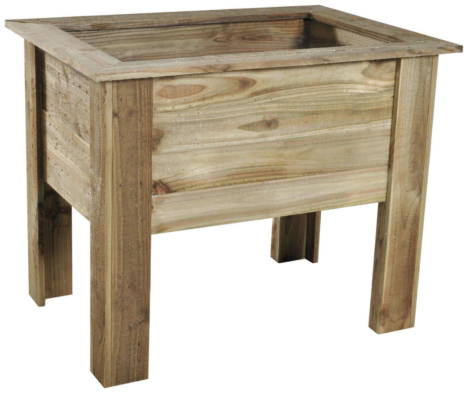 forest cambridge wooden planter 50cm. Black Bedroom Furniture Sets. Home Design Ideas