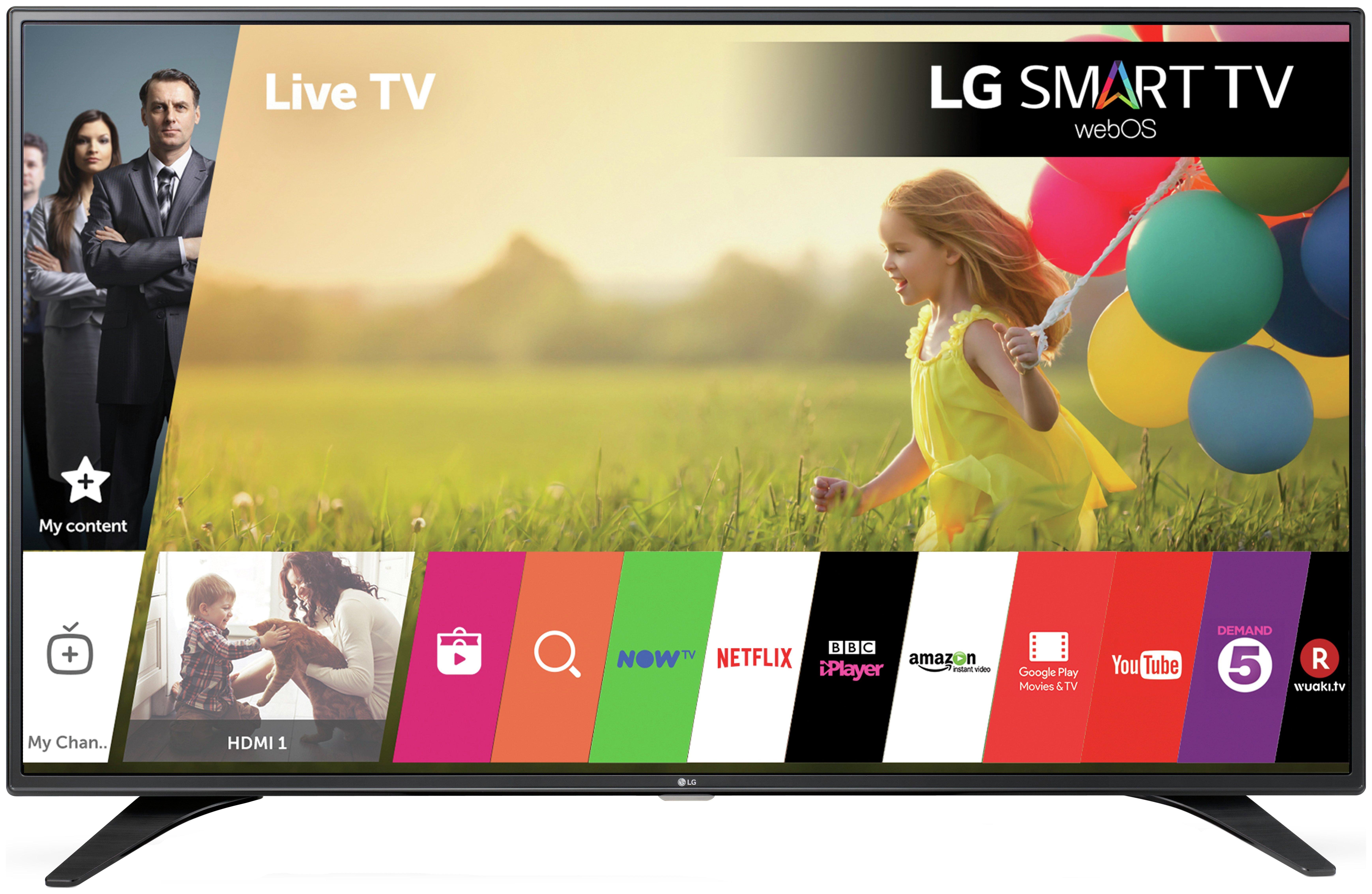 Image of LG - 32 Inch - 32LH604V - Full HD Web OS - Smart LED TV.