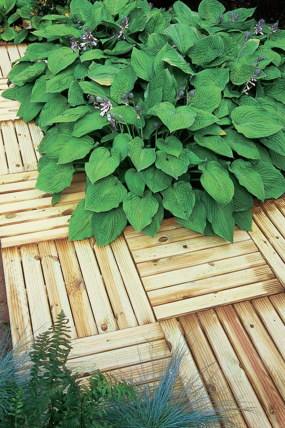 Forest Small Profiled Deck Tiles. lowest price