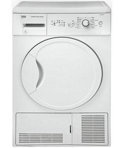 Beko DCU7230W Condenser Tumble Dryer - White.