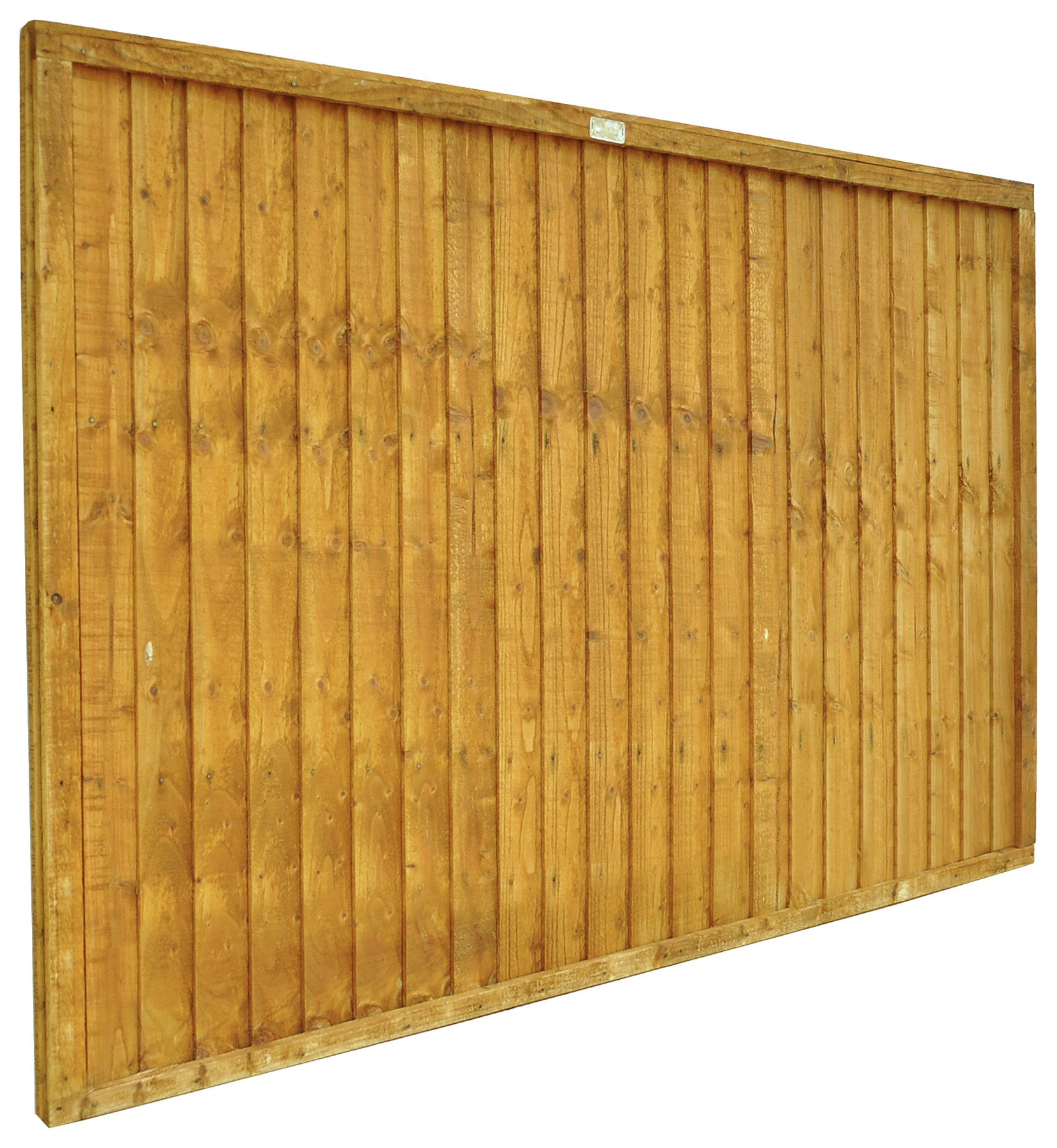 Forest 1.2m Closeboard Fence Panel - Pack of 7. lowest price