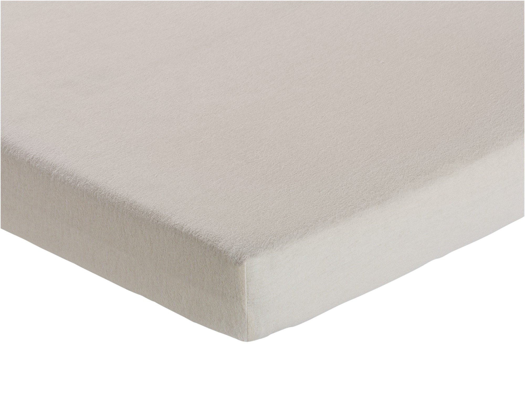 Collection - Cream Brushed Cotton Fitted - Sheet - Toddler