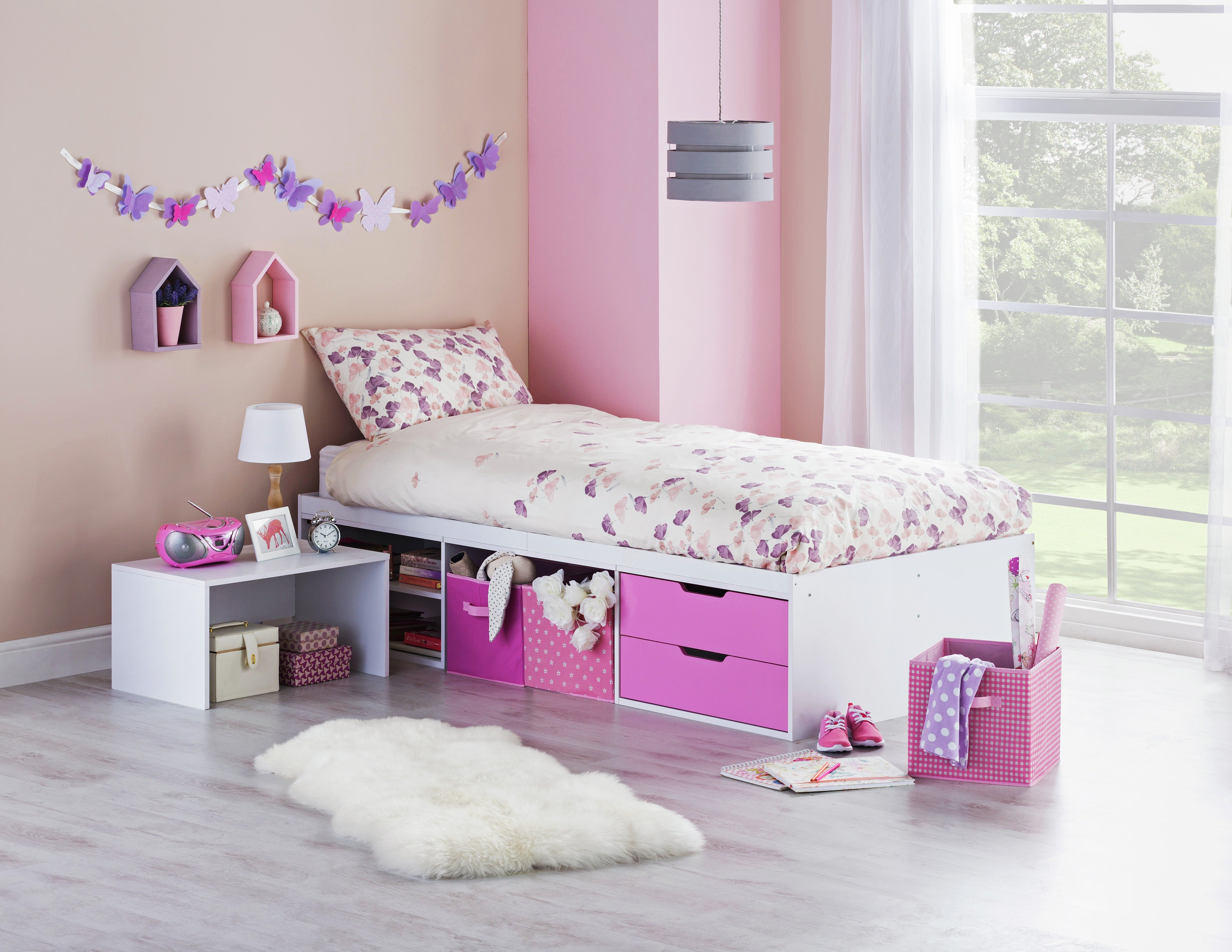callum-cabin-bed-with-pull-out-desk-ashley-mattress-pink