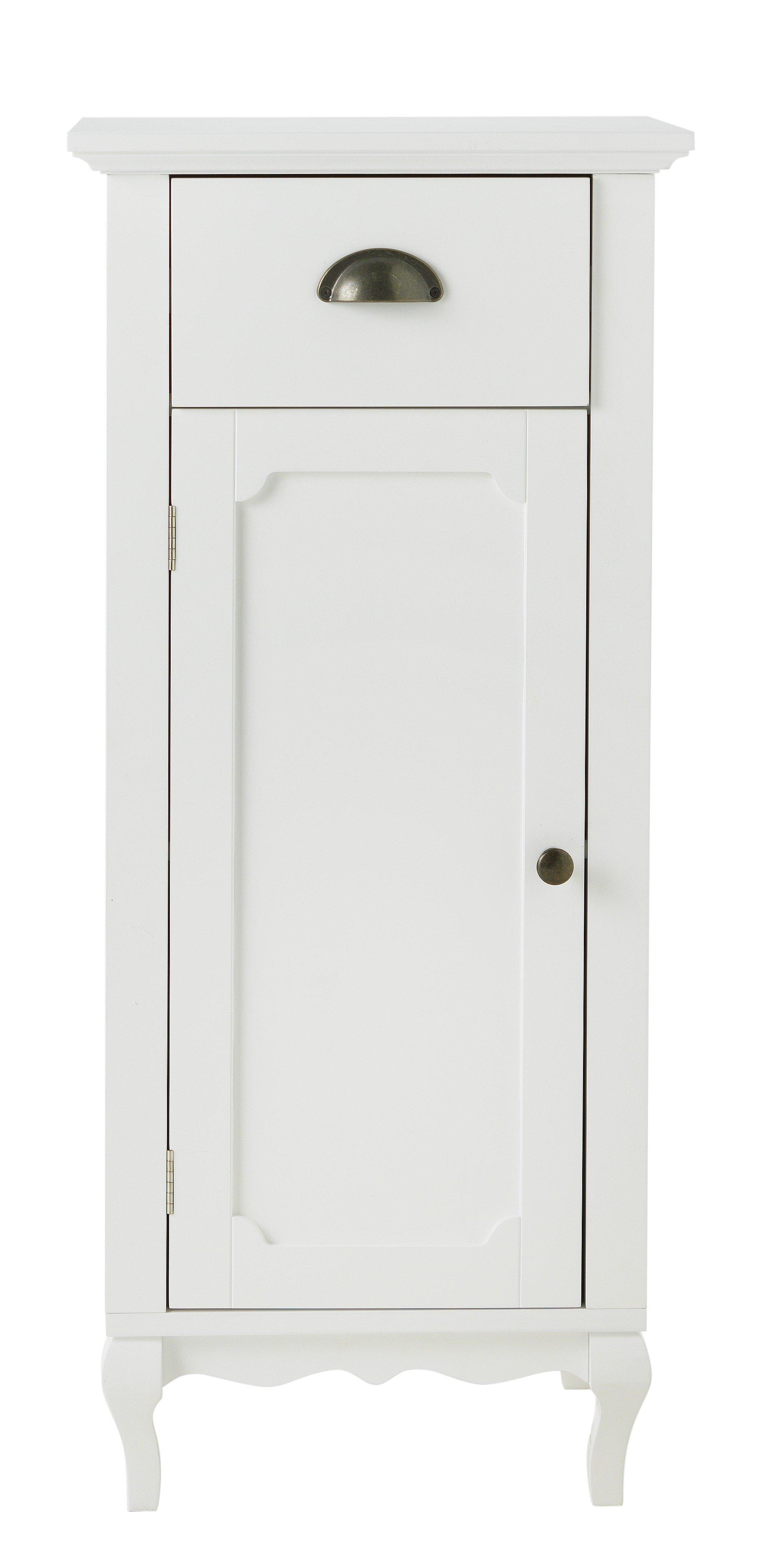 Bathroom Floor Cabinet buy collection provence bathroom floor cabinet - white at argos.co