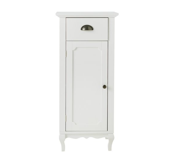 Collection Provence Bathroom Floor Cabinet White531 7729