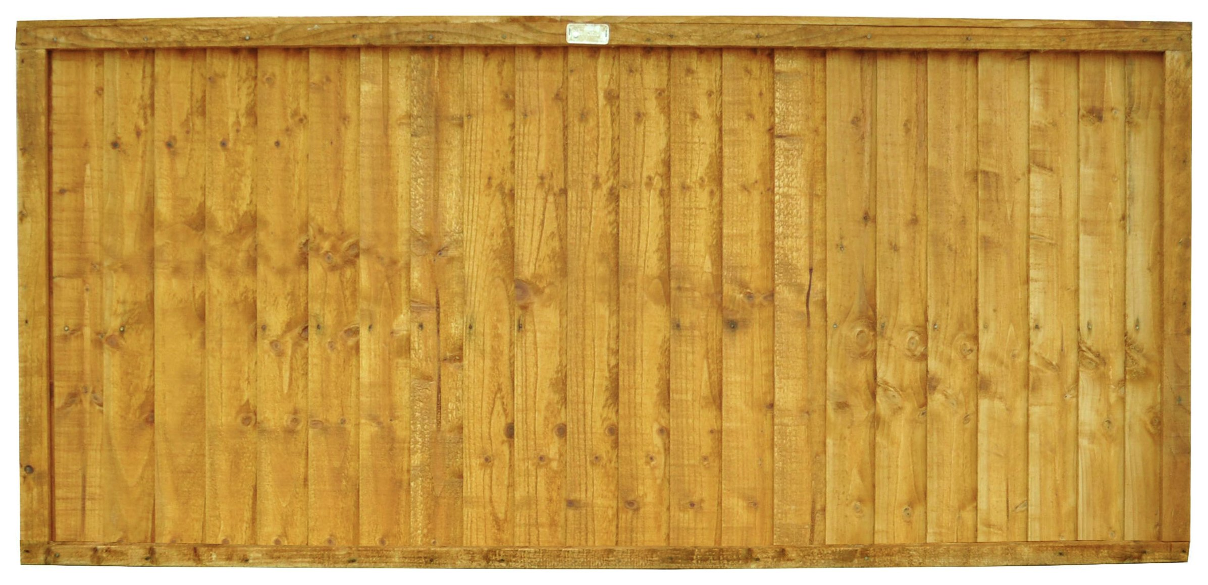Image of Forest 0.9m Larchlap Closeboard Fence Panel - Pack of 3.