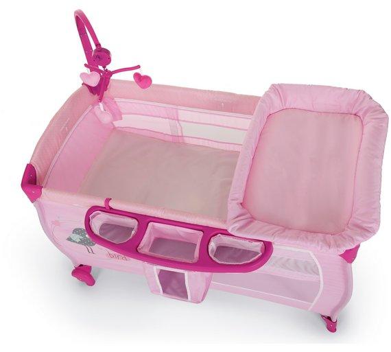buy hauck babycenter travel cot birdie at. Black Bedroom Furniture Sets. Home Design Ideas