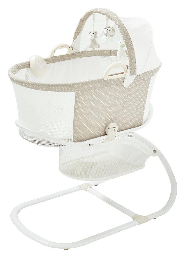 Image of PurFlo PurAir Breathable Bassinet – Soft Truffle.