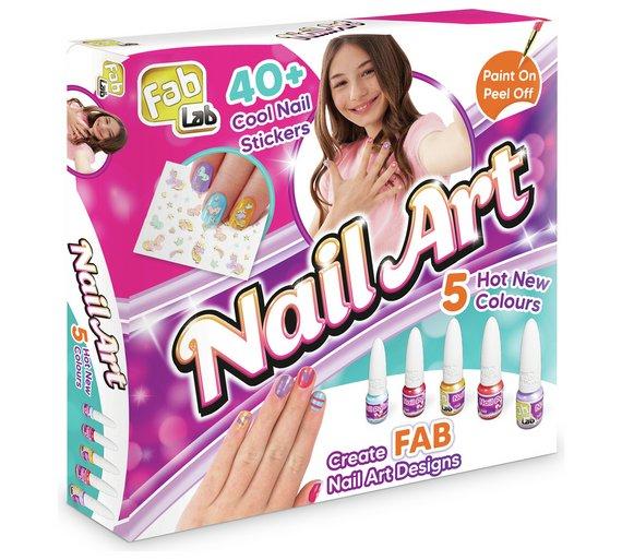51daca20c Buy Fablab Nail Art Set 2 For 15 Pounds On Toys Argos