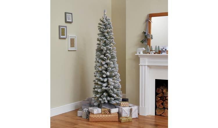 Buy Argos Home 6ft Pre-Lit Snow Tipped Christmas Tree