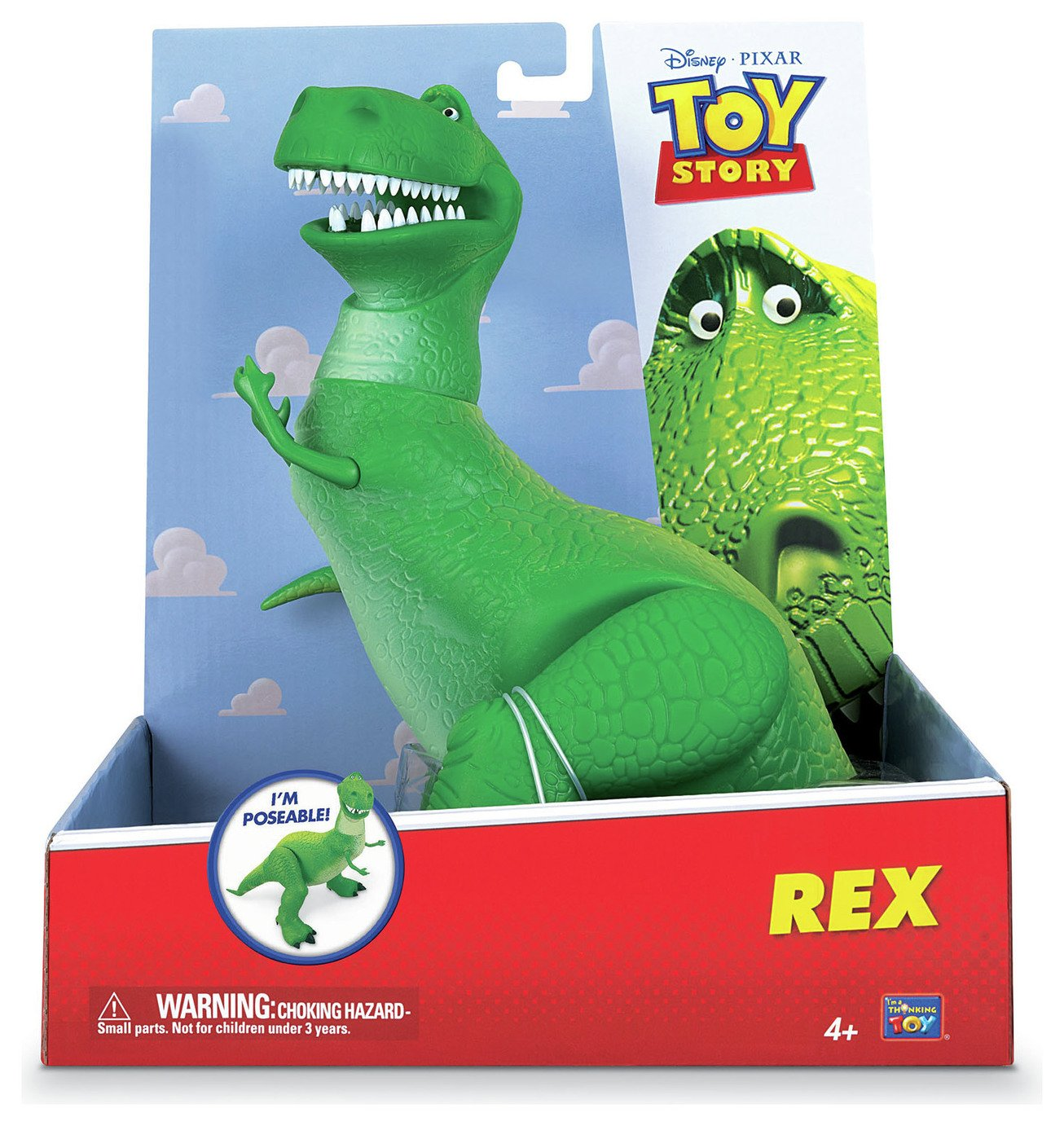 Disney Toy Story Rex Figure