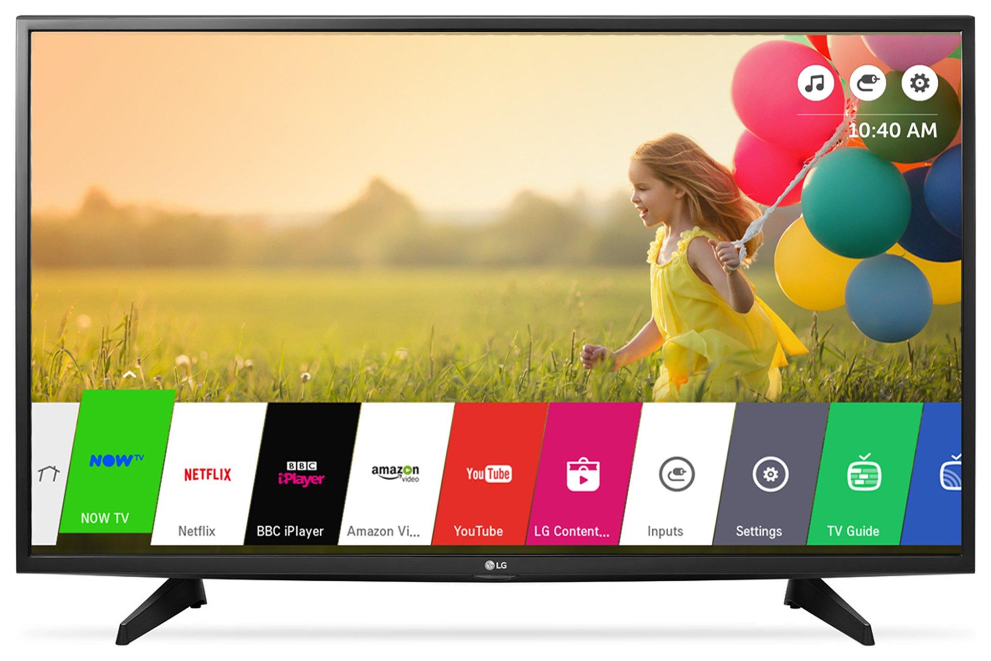 LG - 32 Inch - 32LH570U Smart LED TV. - Black
