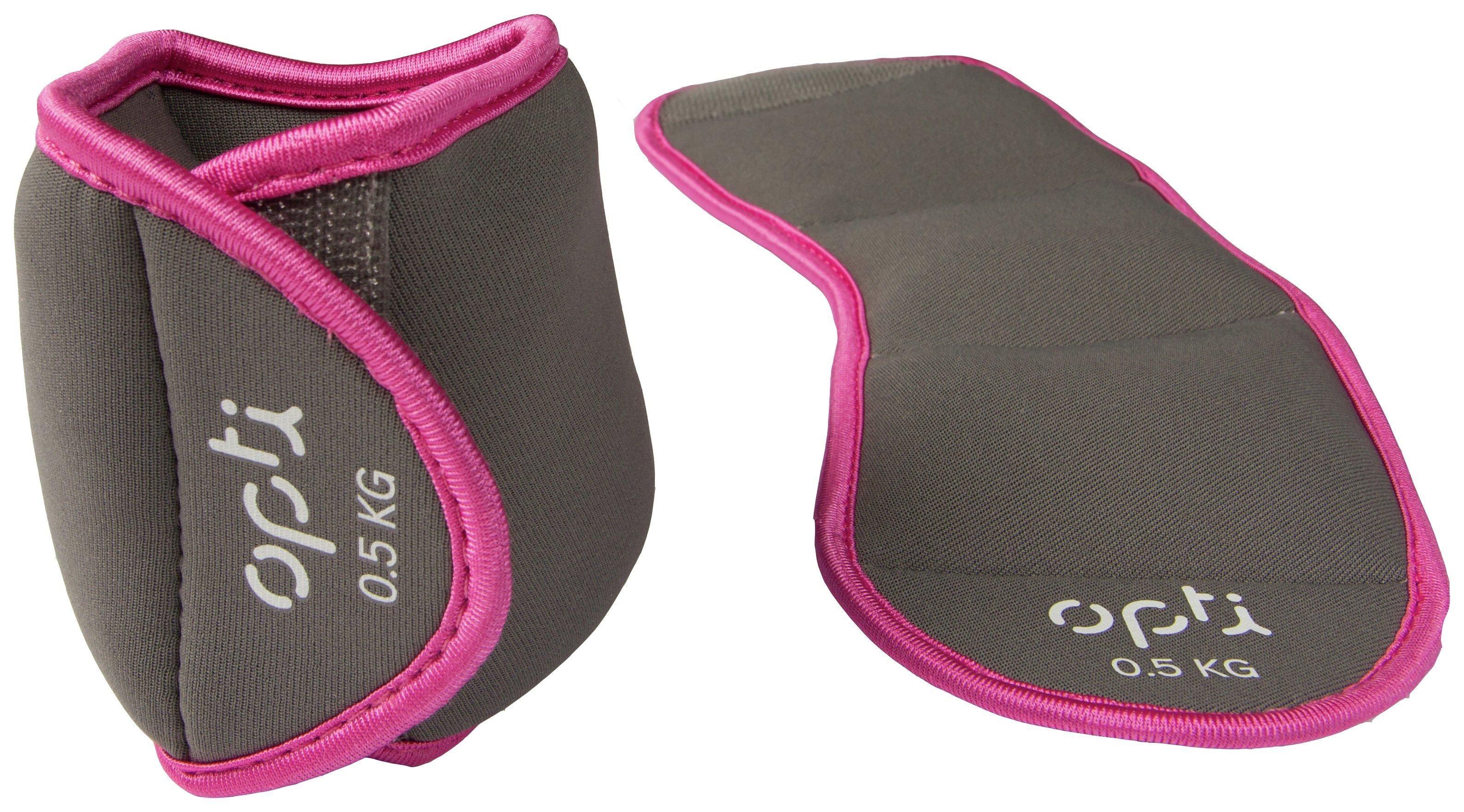Opti - Wrist Weights 2 x 05kg - Pink lowest price