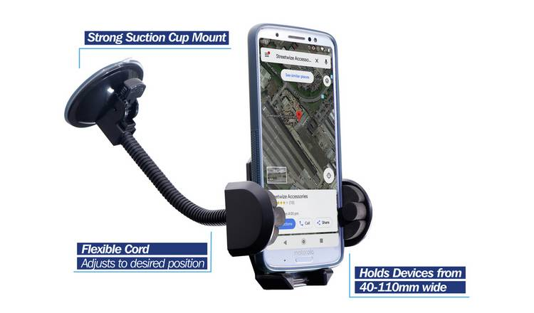 Streetwize Car Mobile and Sat Nav Holder