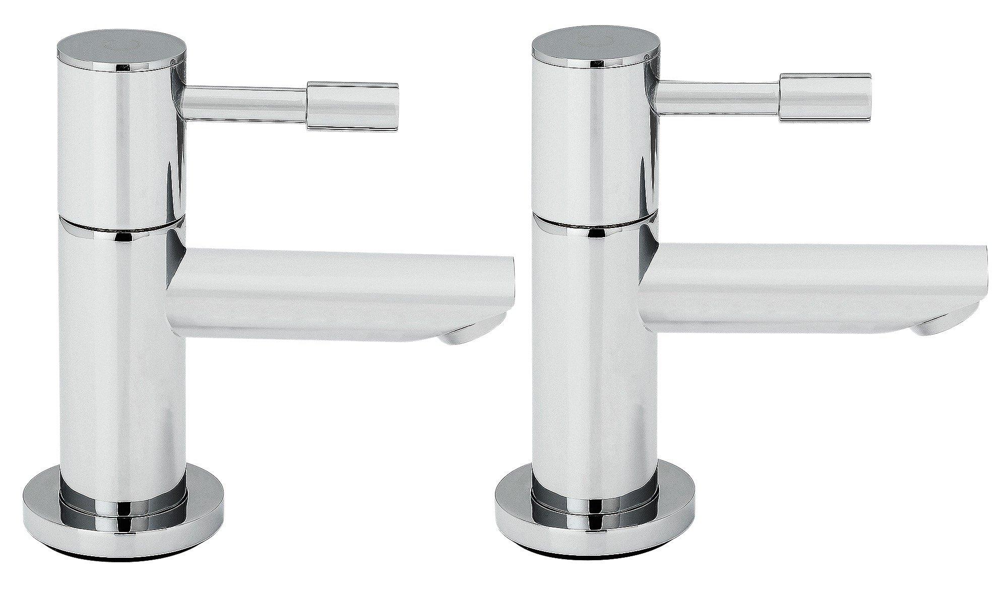 Argos Home Evoke Chrome Plated Basin Taps
