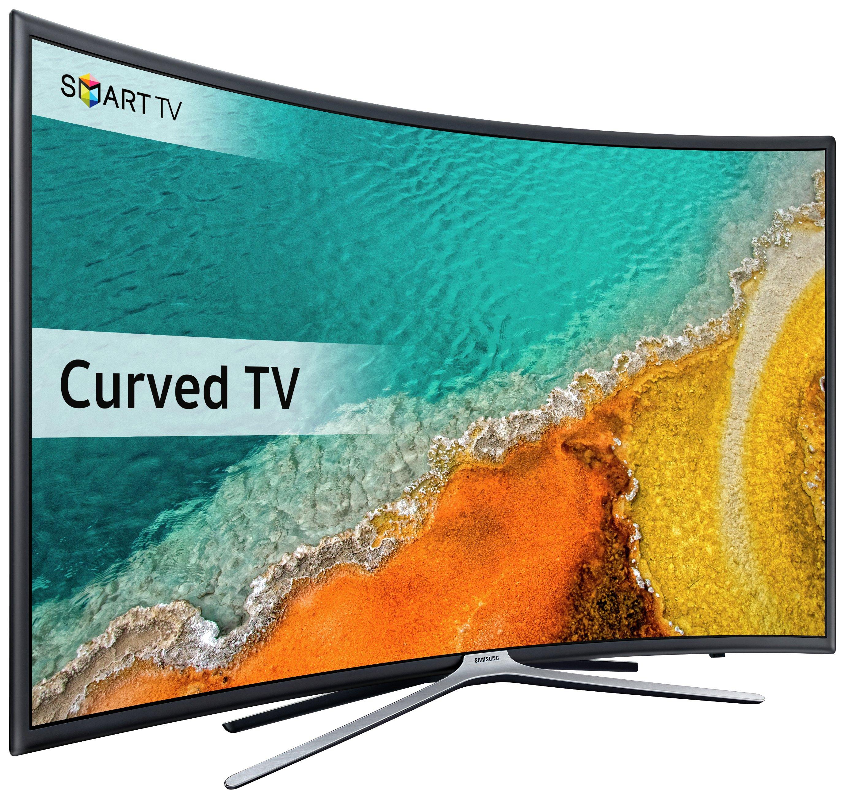 Image of Samsung - 49 Inch - UE49K6300 - Curved - Full HD Super - Smart LED TV.