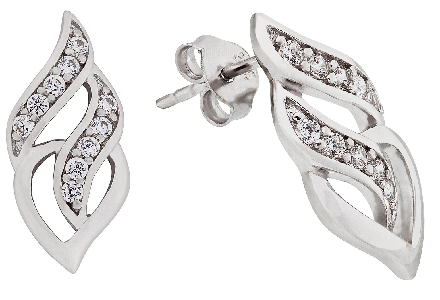 sterling-silver-cubic-zirconia-fancy-earrings