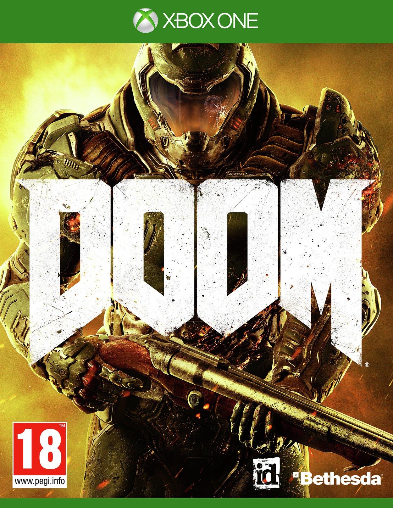 Doom DOOM - Xbox - One Game.