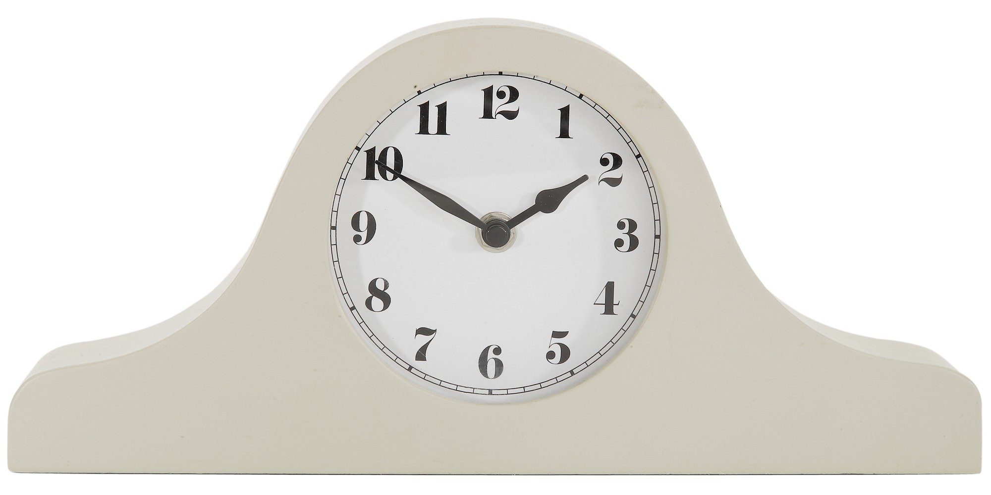Heart of House Iris Mantel Clock - Ivory.