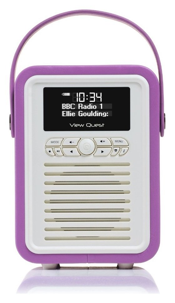 VQ VQ - Retro Mini DAB Radio - Radiant Orchid