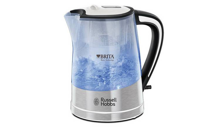 Russell Hobbs Purity Brita Filter Clear Plastic Kettle