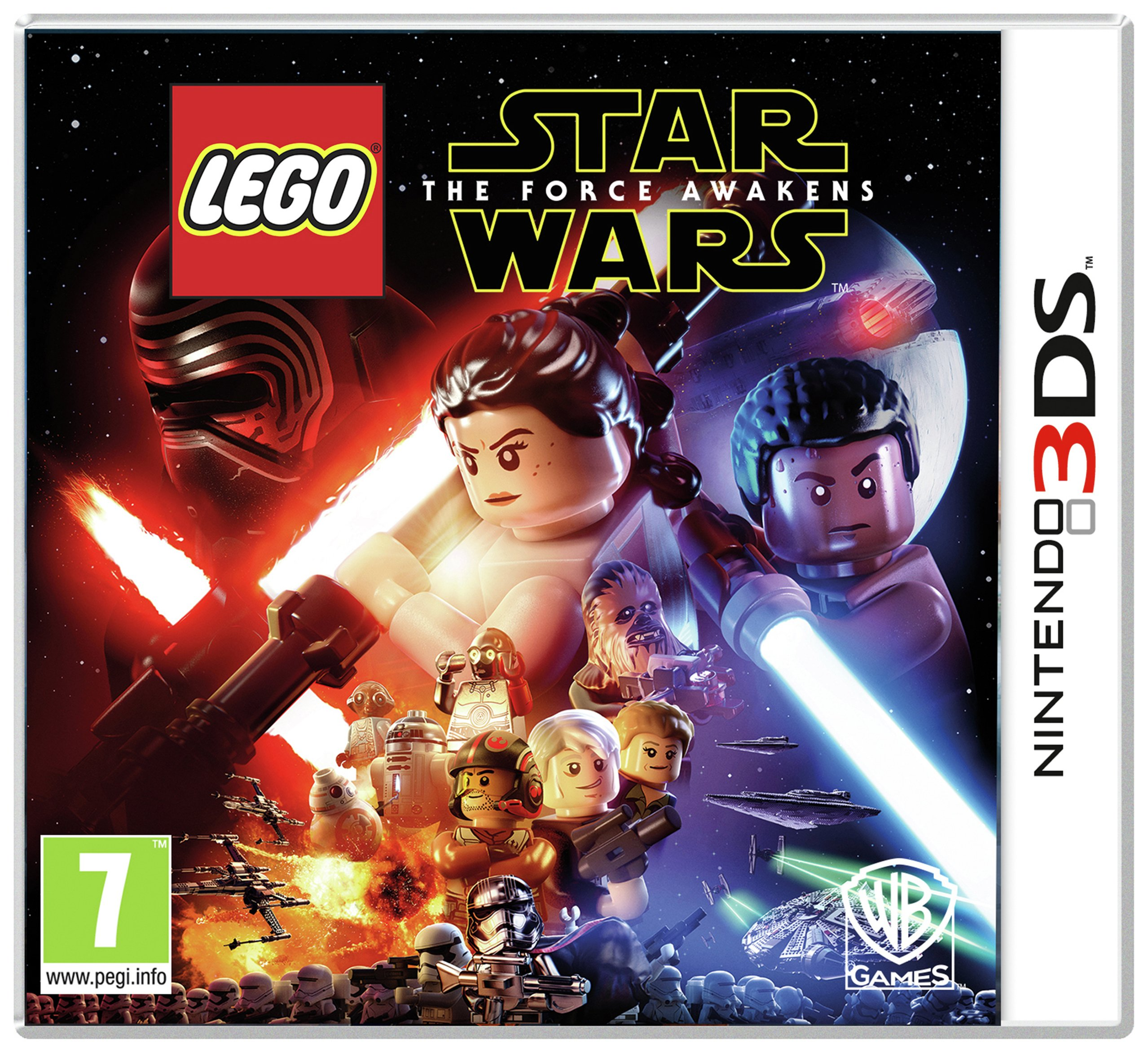 Image of LEGO - Star Wars - The Force Awakens - 3DS Game
