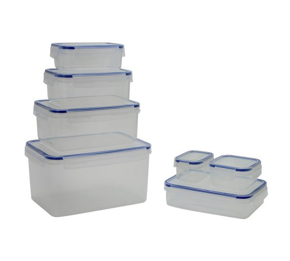 Buy Addis Piece Plastic Kitchen Storage Set At Argoscouk - Kitchen storage boxes