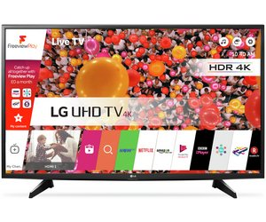 LG 49UH610V 49 Inch Ultra HD 4K Web OS Smart LED TV.