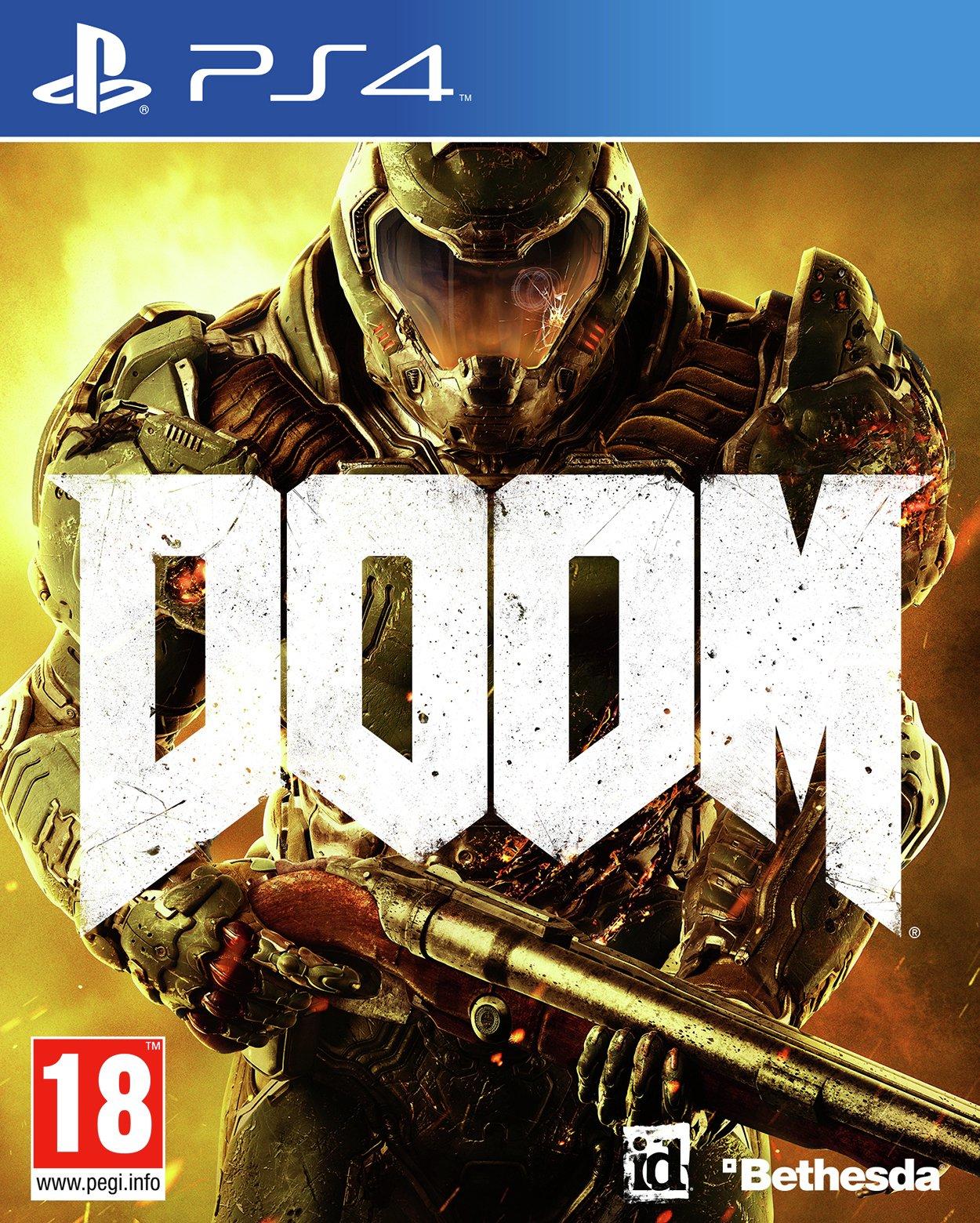 Doom DOOM - PS4 Game.
