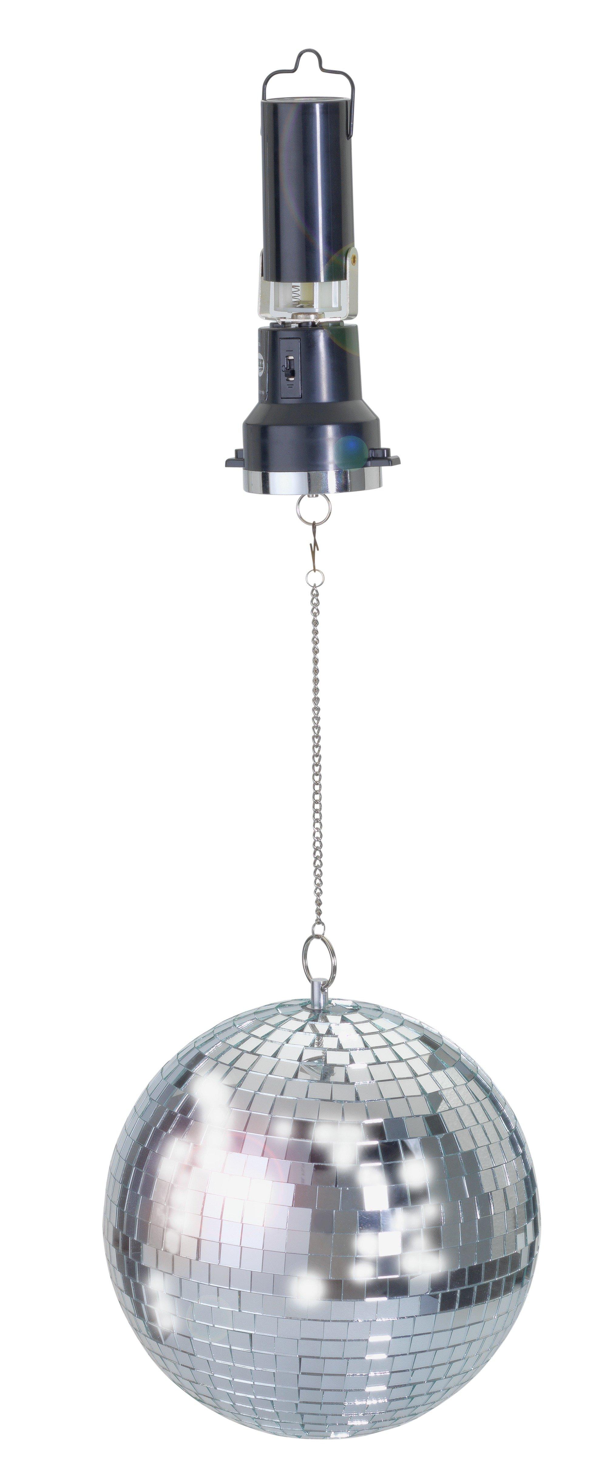 LED Hanging Disco Ball Light - Multicoloured
