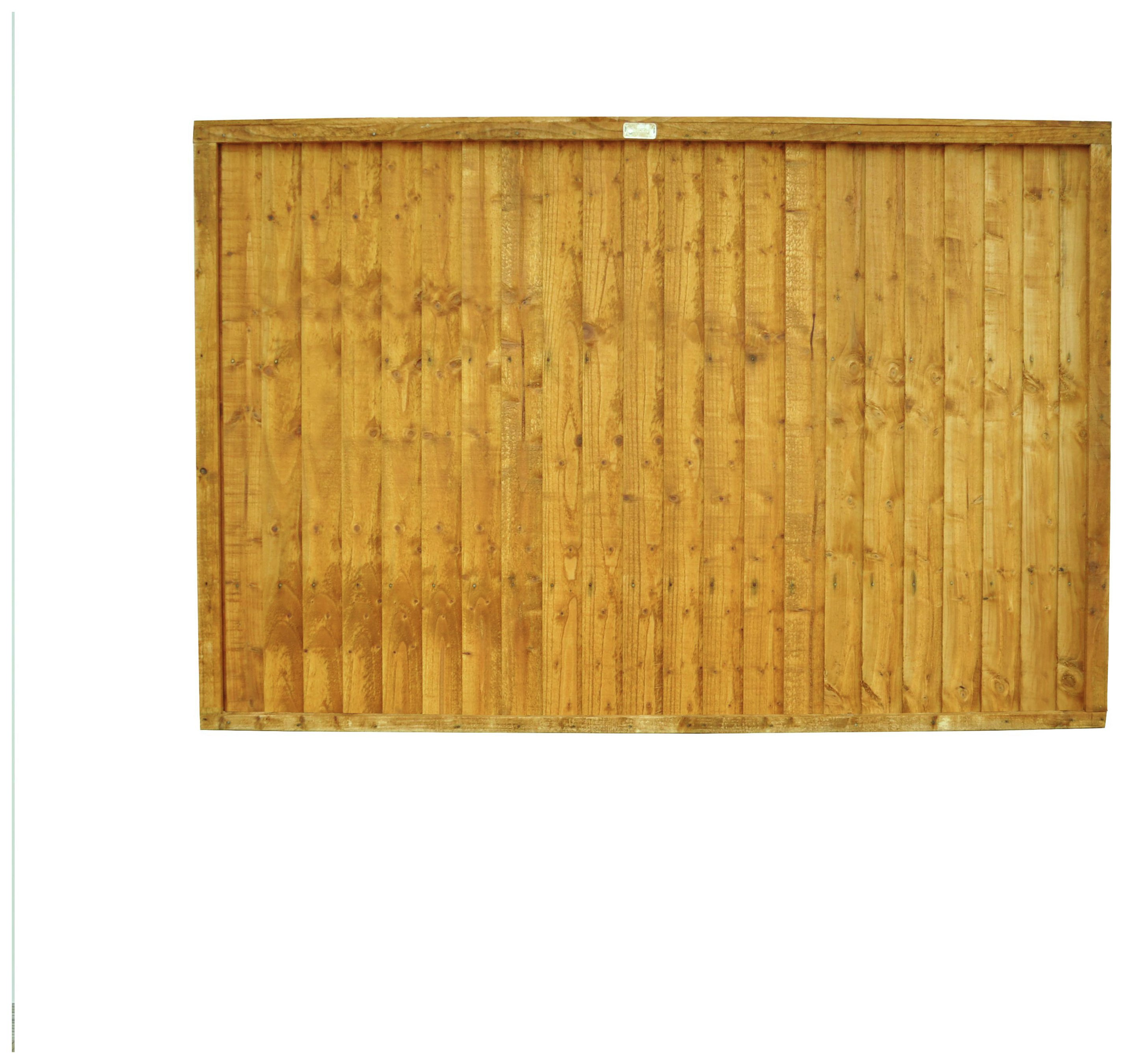 Forest 4ft (1.22m) Closeboard Fence Panel - Pack of 4