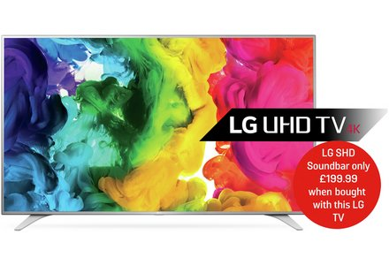LG 43UH650V 43 Inch Web OS SMART 4K Ultra HD TV with HDR.
