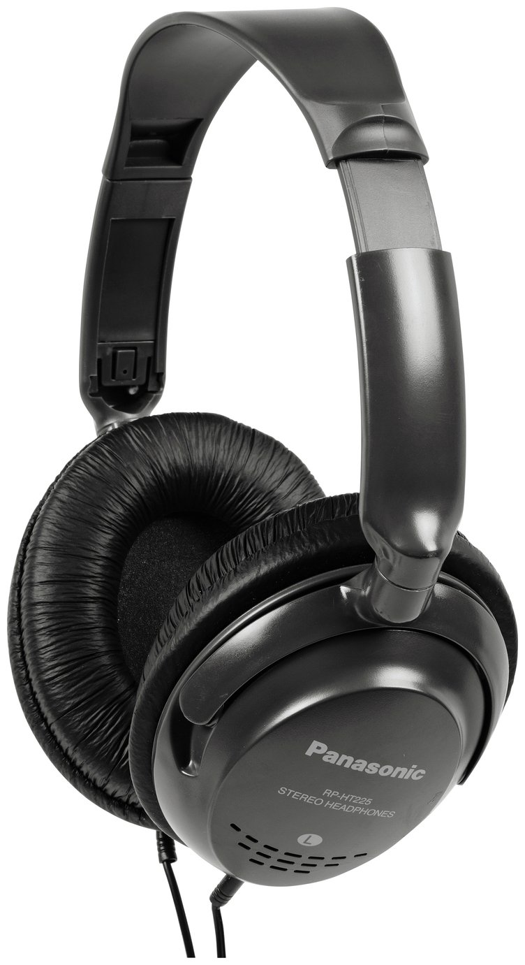 Panasonic RPHT225 Over-Ear Headphones - Black