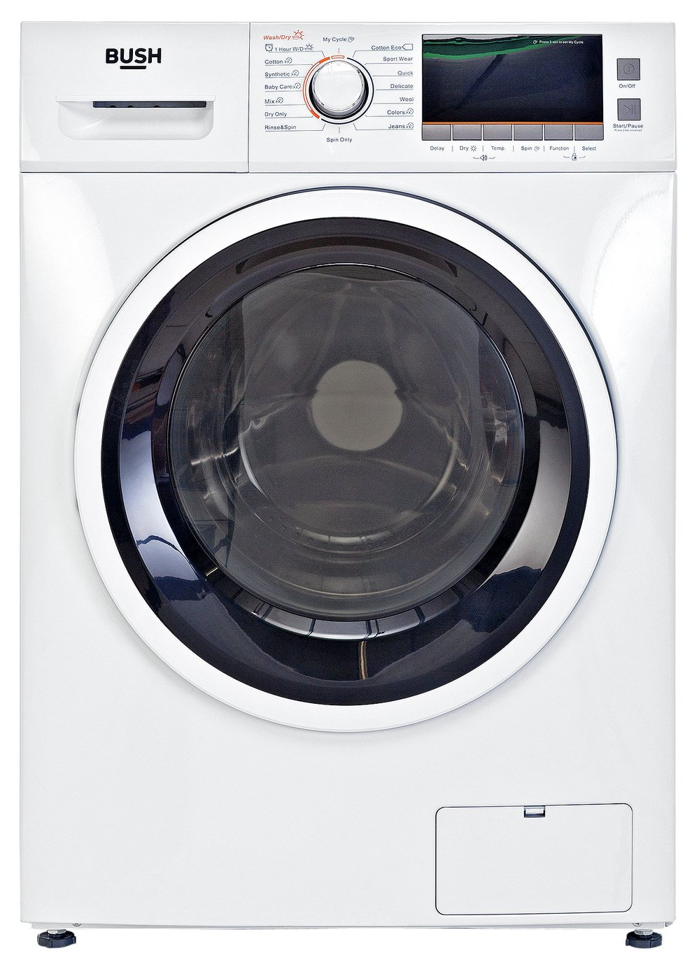 Bush WDNSX86W 8KG / 6KG 1400 SpinWasher Dryer - White