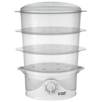 Russell Hobbs - 21141 Your Creations 3 Tier - Steamer - White