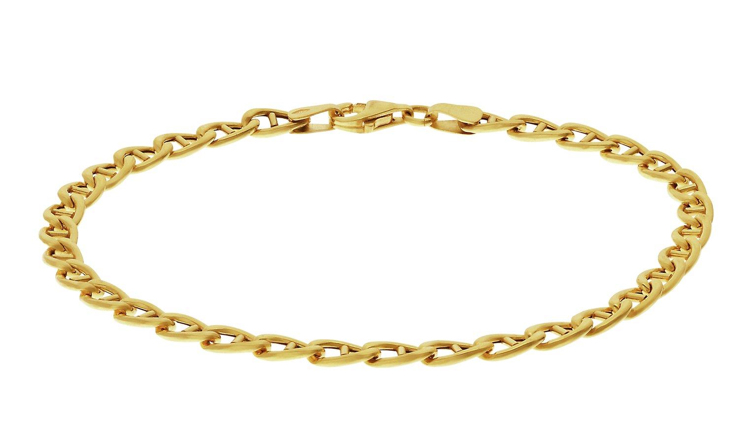 Image of 9 Carat Gold - Anchor Bracelet.